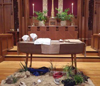 Altar Decoration for World Communion Sunday